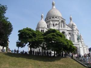 Sacré Coeur. Butte Montmartre